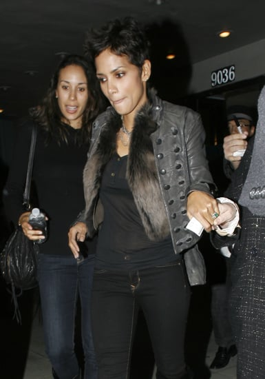 Pictures of Halle Berry Leaves the Laemmle Music Hall in LA