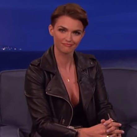 Ruby Rose Talks About Justin Bieber Comparisons on Conan