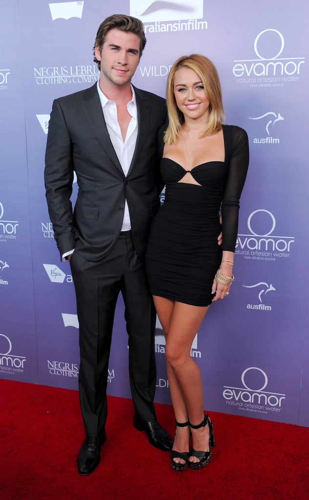 Liam hemsworth who is he dating now