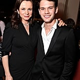 Emily Watson and Jeremy Irvine came out to support War Horse in NYC.