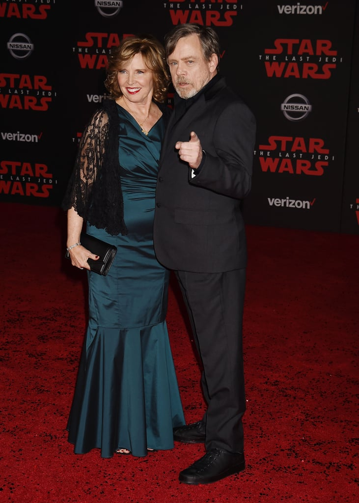 Pictured: Mark Hamill and Marilou Hamill