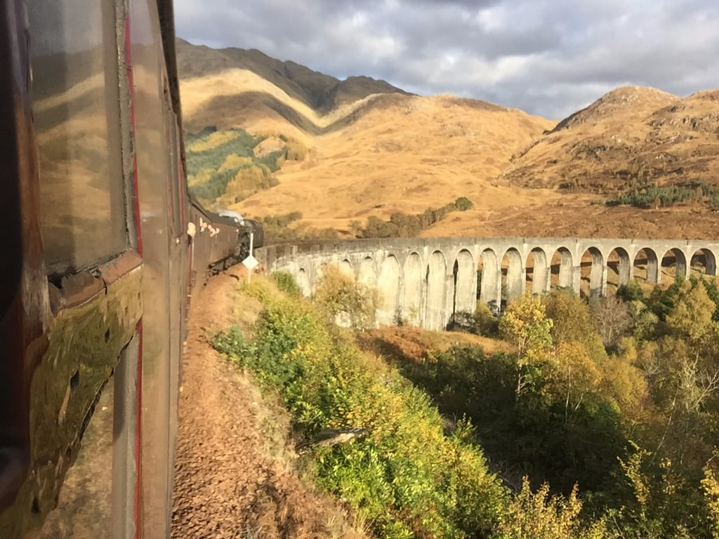 Harry Potter Jacobite Steam Train in Scotland
