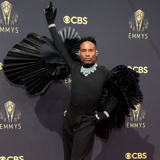 See Billy Porter's Black Swan Emmys Red Carpet Look 2021