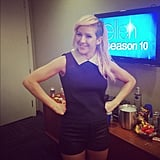 Ellie Goulding took a photo in her dressing room before her appearance on Ellen. Source: Instagram user elliegoulding