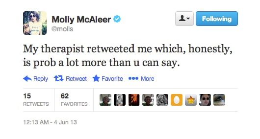 Wow. Comedy writer Molly McAleer really has it together.