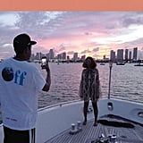 December: JAY-Z Played Instagram Husband During Their Yacht Day in Miami