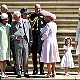 Charles made sure Doria Ragland was included with the rest of the royal family on the steps of St. James Palace after the royal wedding.