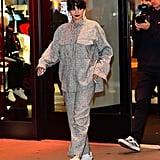 Selena Gomez Wears Everlane Puffer to Puma Meet and Greet