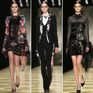 2013 Autumn Winter Milan Fashion Week Roberto Cavalli Runway