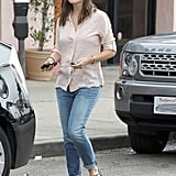 Jennifer Garner took a stroll in LA.