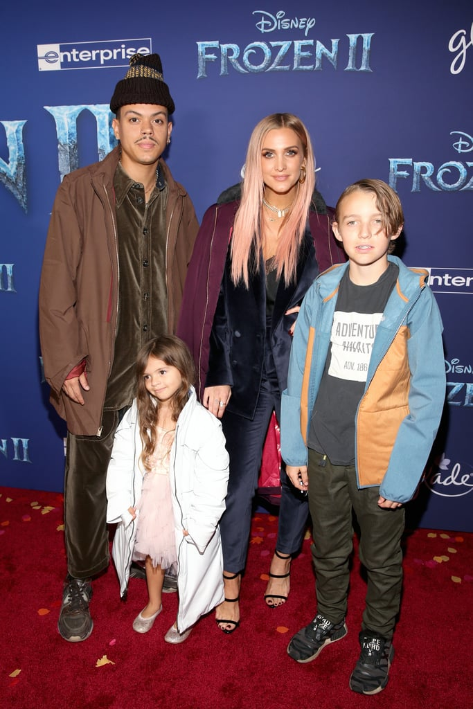 Ashlee Simpson and Evan Ross Family at Frozen 2 Premiere