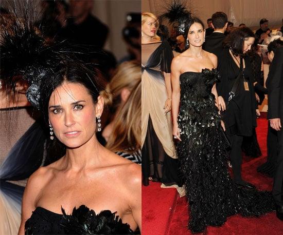 Demi Moore 2011 Met Gala