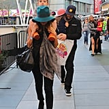 Nicole Richie and Joel Madden had Harlow and Sparrow with them for the Yo Gabba Gabba show in LA.