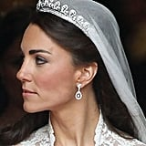 Her tiara was made by Cartier in 1936 and presented to Queen Elizabeth II on her 18th birthday.
