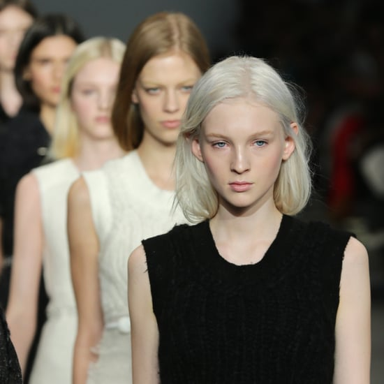 Calvin Klein Fall 2014 Hair and Makeup   Runway Pictures