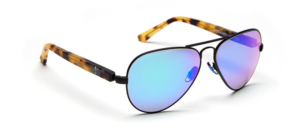 I'm already an avid fan and obsessive wearer of Westward Leaning's classic wayfarers, so when the brand released the new Concorde collection aviators ($205), I knew it was time to add a new pair of mirrored sunglasses to my stockpile.  — AM, assistant editor