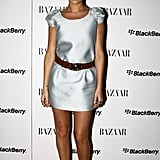 Lara Bingle at the Harper's Bazaar and Blackberry White Bold Party 2010