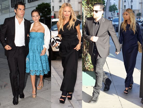Jessica Alba, Nicole Richie, and Rachel Zoe Celebrate Their Friend Katherine Power's Wedding