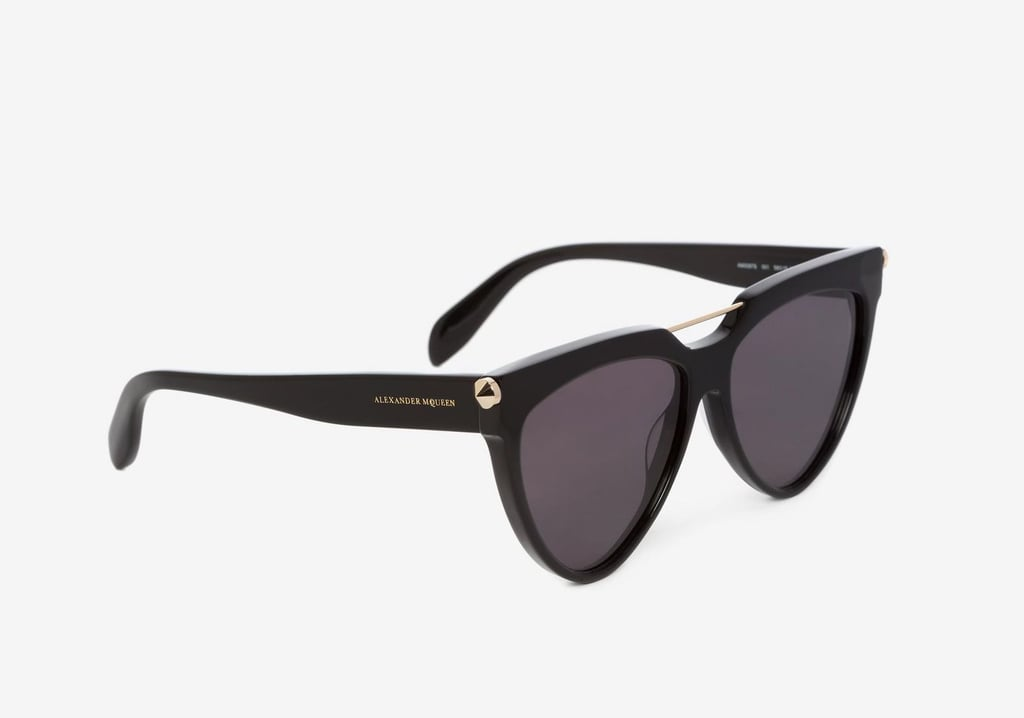 Alexander McQueen Piercing Shield Fram Sunglasses