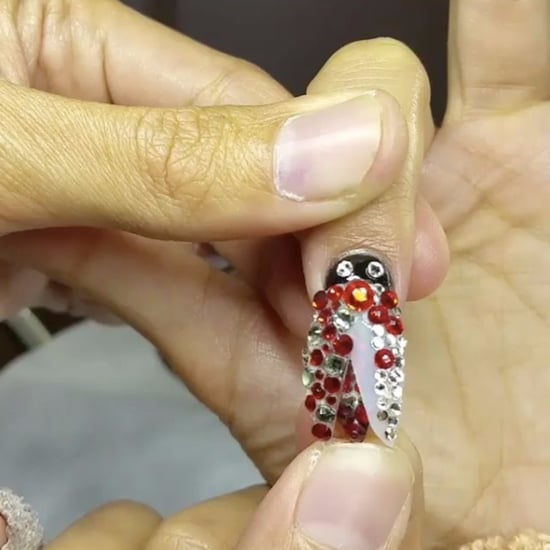 Moving Nail Art