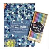 Meditation Coloring Book With Metallic Colored Pencils