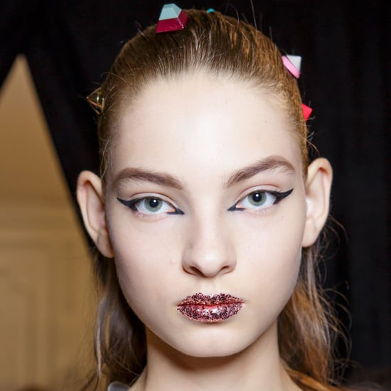 Best Fashion Week Glitter Makeup