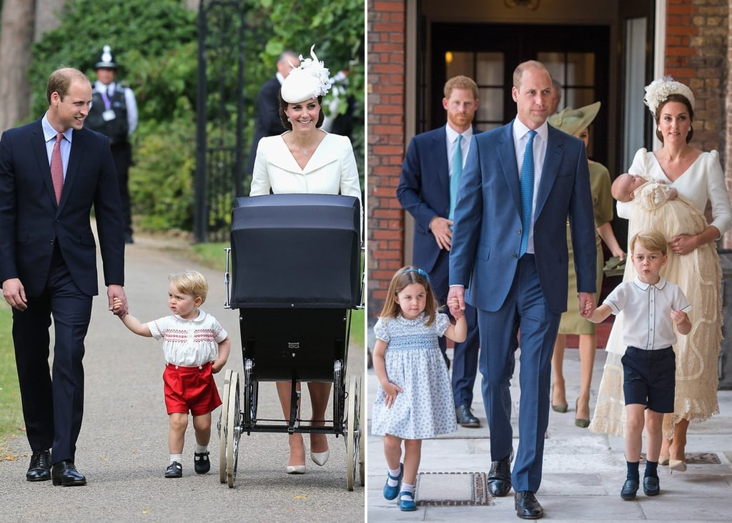 George, Charlotte, and Louis's Royal Christening Pictures