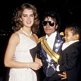 Both Brooke Shields and Emmanuel Lewis were good friends of Michael's. The trio hung out together at the 1984 Grammys.