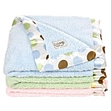 Little Giraffe Luxe New Dot Blanky ($42)
