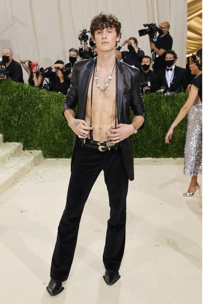 Shawn Mendes at the 2021 Met Gala