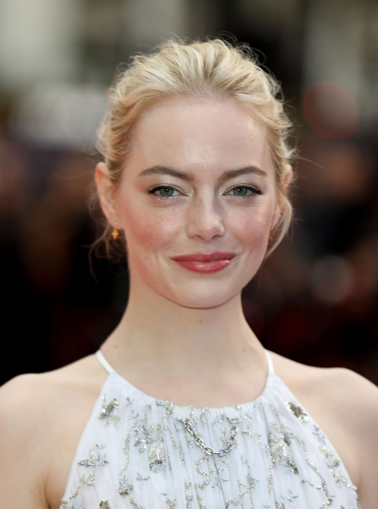 Emma Stone With Her Natural Hair Color