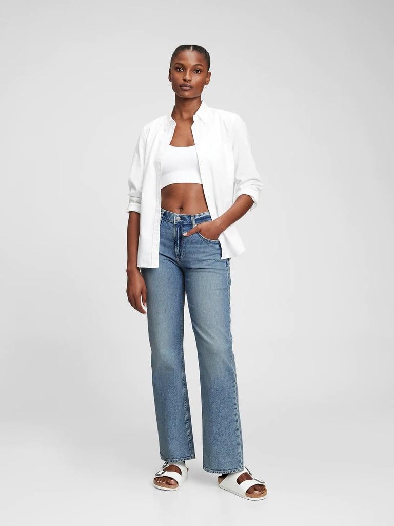 Gap Mid Rise Organic Cotton '90s Loose Jeans