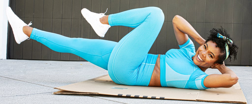 Try Gabrielle Union's 10-Minute Ab Workout on FitOn