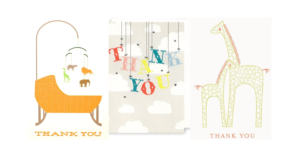 Baby Shower Thank You Notes  Popsugar Moms