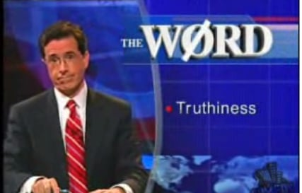 """Merriam-Webster's Word of 2006: """"Truthiness"""""""