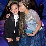 Pictured: Deric McCabe and Storm Reid