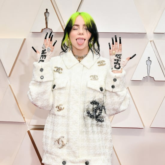 Billie Eilish's Best Nail Art Over the Years