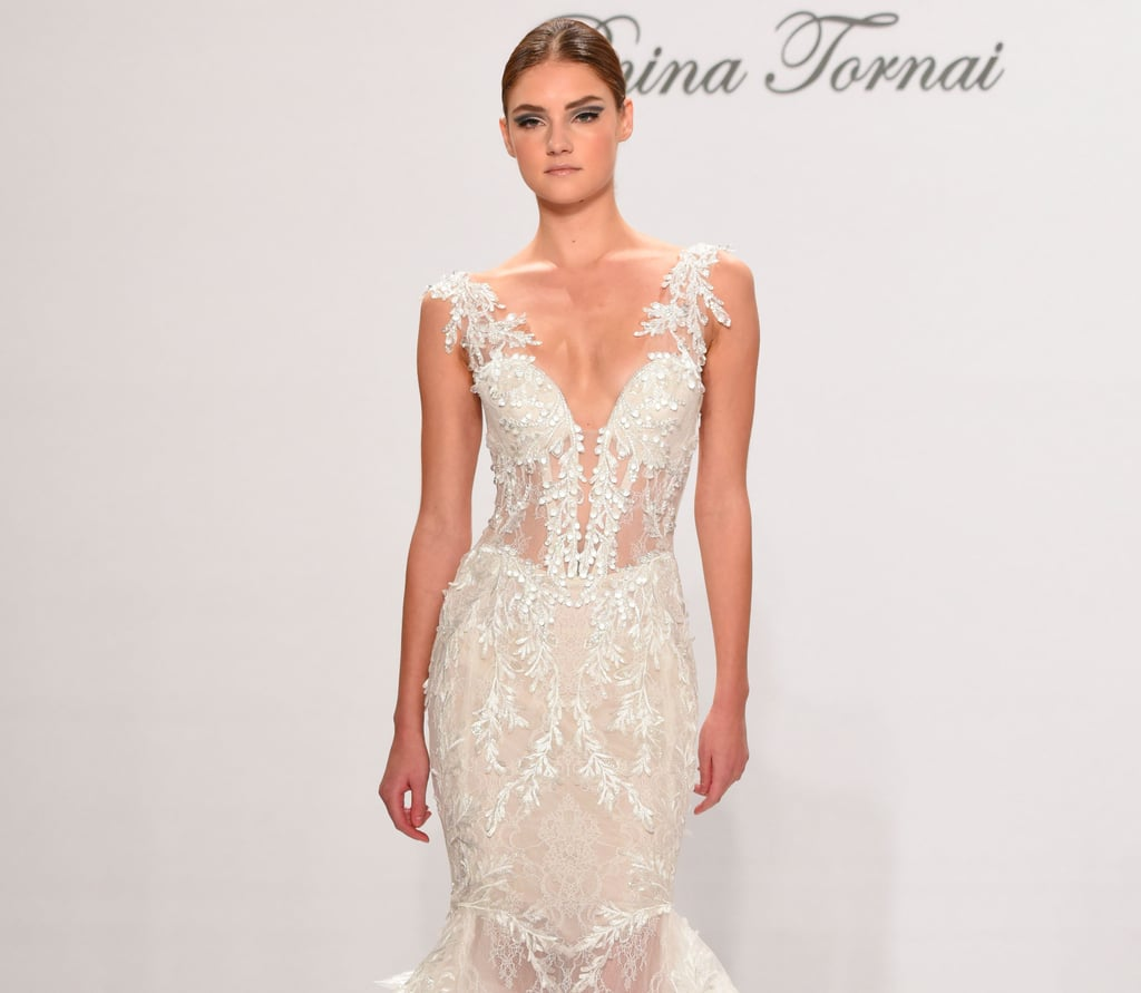 41b2a0fd4957c Pnina Tornai at Kleinfeld 2017 Wedding Dresses | POPSUGAR Fashion UK