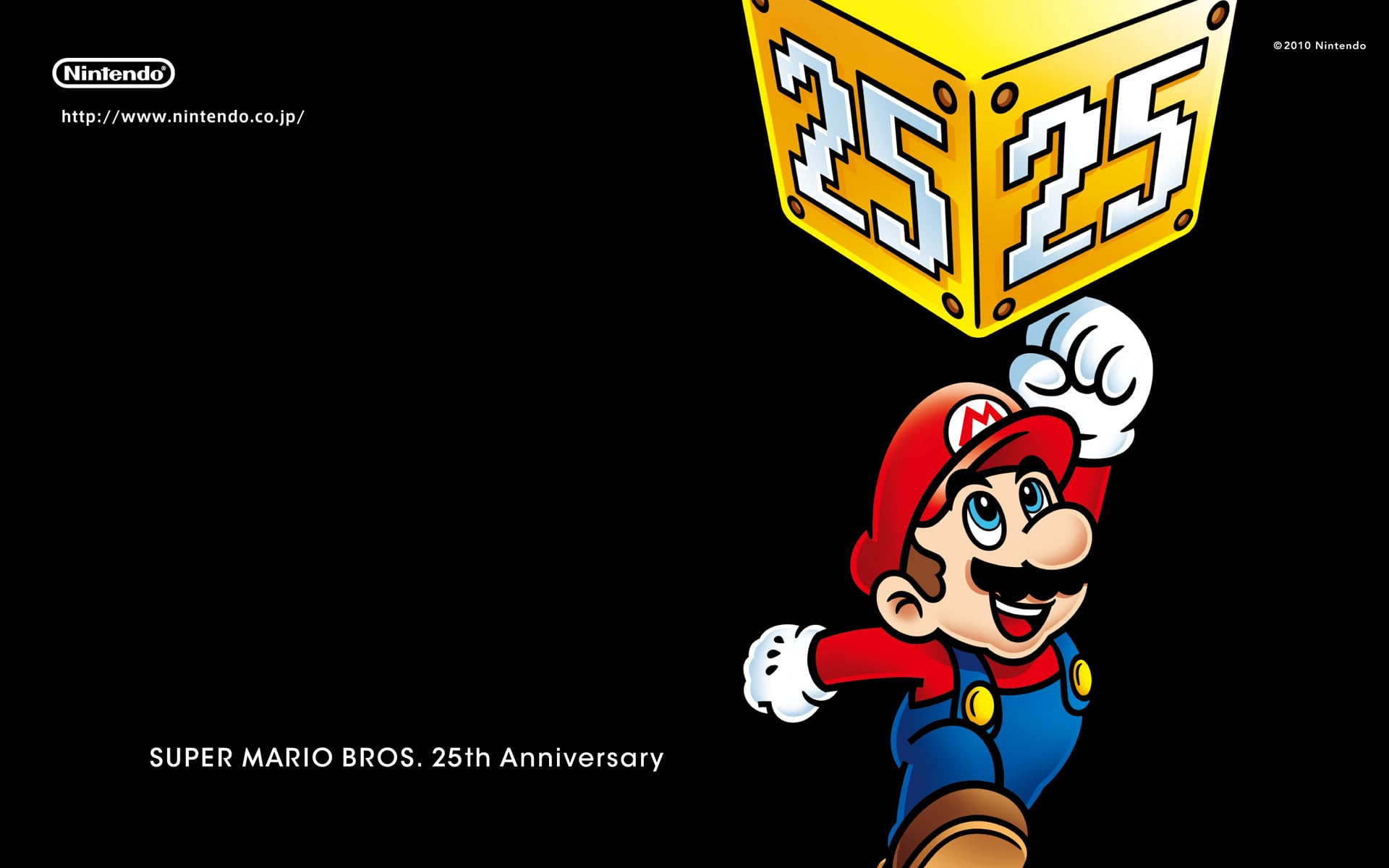 Super Mario Bros Wallpapers From Japan 2010 10 08 13 15 05 Popsugar Tech