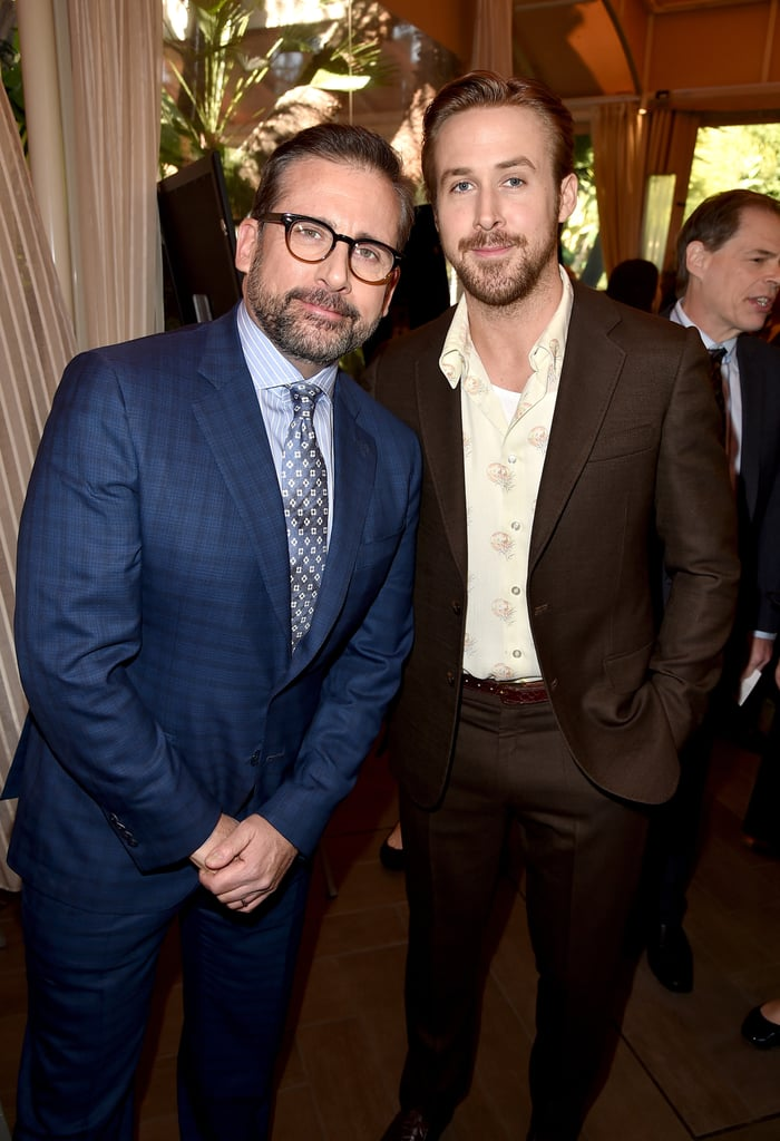 Pictured: Steve Carell and Ryan Gosling