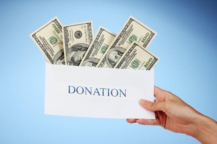 donating to charity tips popsugar career and finance. Black Bedroom Furniture Sets. Home Design Ideas