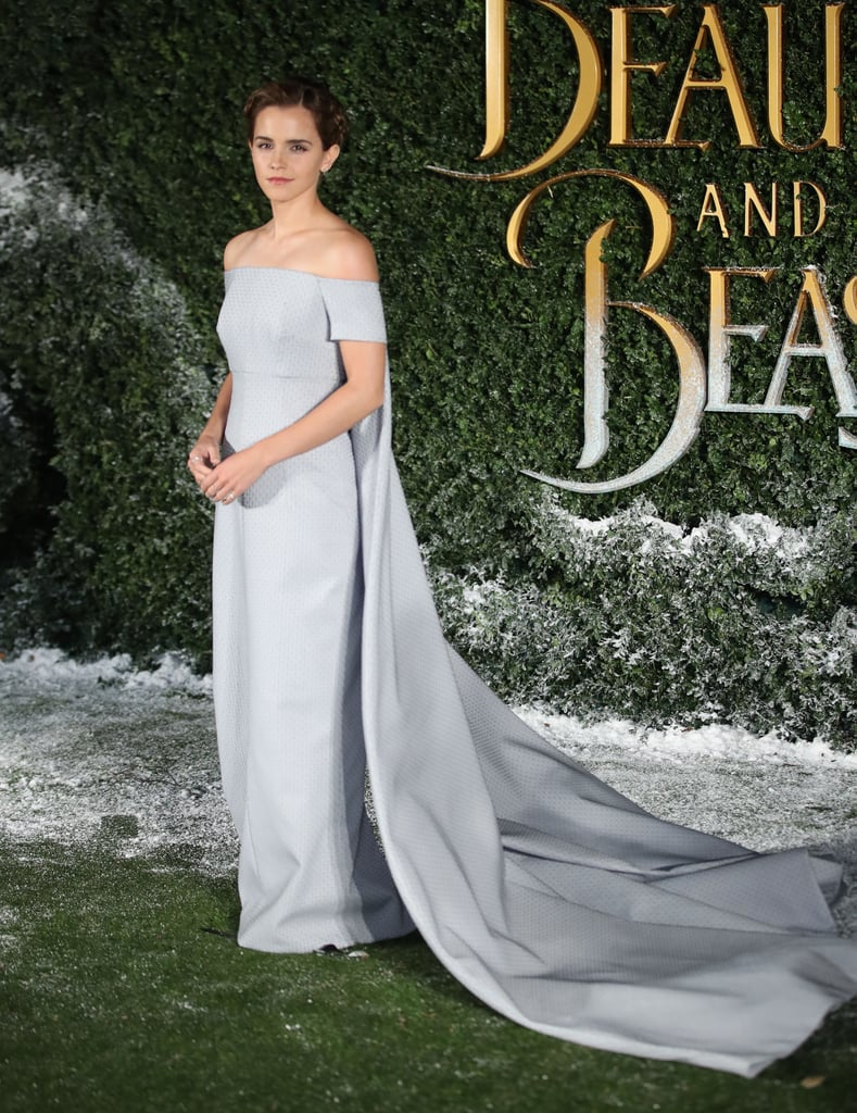 Emma wore a fairy tale-like Emilia Wickstead gown in 2017 to a ...
