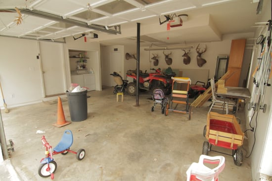 Chip Wade's Game Room Garage Makeover