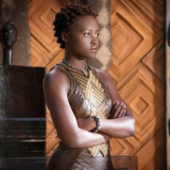 Lupita Nyong'o Black Panther Interview February 2018