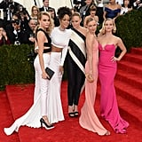 The 2014 Met Gala got a dose of girl power when Cara Delevingne, Rihanna, Stella McCartney, Kate Bosworth, and Reese Witherspoon posed arm in arm.