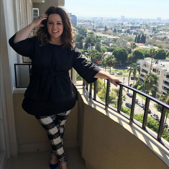 Melissa McCarthy Wearing Her Fashion Line