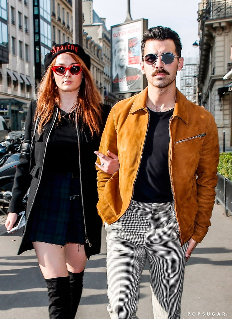 Sophie Turner and Joe Jonas Fittingly Step Out in the City of Love After Getting Engaged