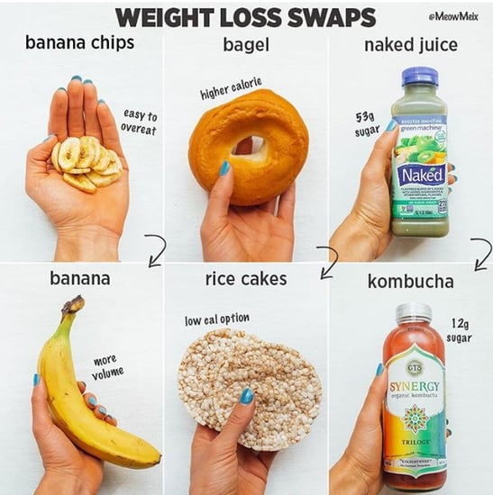 Simple Food Swaps to Lose Weight