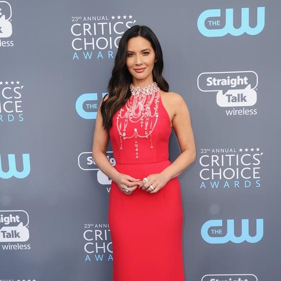 Olivia Munn's Dress at Critics' Choice Awards 2018