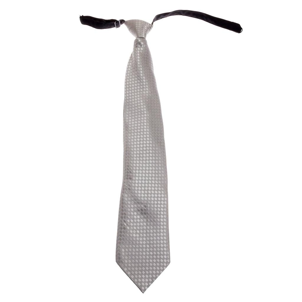 Hidden Flask Clip-On Neck Tie ($22)